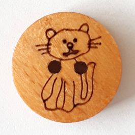 12 Inch Wooden Buttons Qty 24