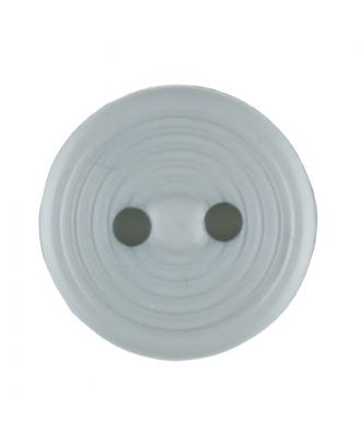polyamide button with 2 holes - Size: 13mm - Color: grey - Art.No. 217700