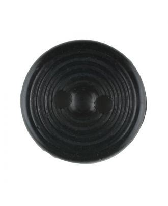 polyamide button with 2 holes - Size: 13mm - Color: black - Art.No. 211725