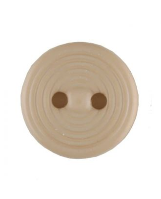 polyamide button with 2 holes - Size: 13mm - Color: beige - Art.No. 217701
