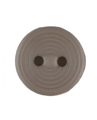 polyamide button with 2 holes - Size: 13mm - Color: beige - Art.No. 217702