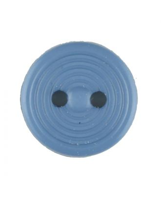polyamide button with 2 holes - Size: 13mm - Color: blue - Art.No. 217704