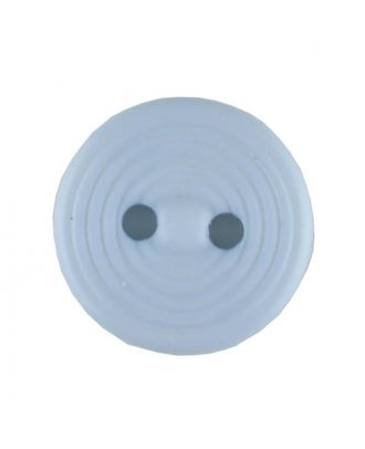 polyamide button with 2 holes - Size: 13mm - Color: blue - Art.No. 217705
