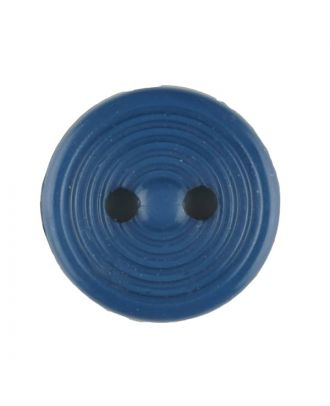 polyamide button with 2 holes - Size: 13mm - Color: blue - Art.No. 217706