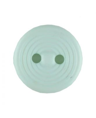 polyamide button with 2 holes - Size: 13mm - Color: green - Art.No. 217709