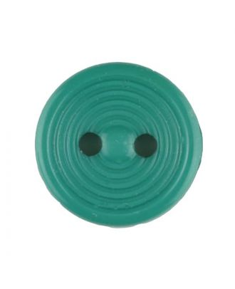 polyamide button with 2 holes - Size: 13mm - Color: green - Art.No. 217710