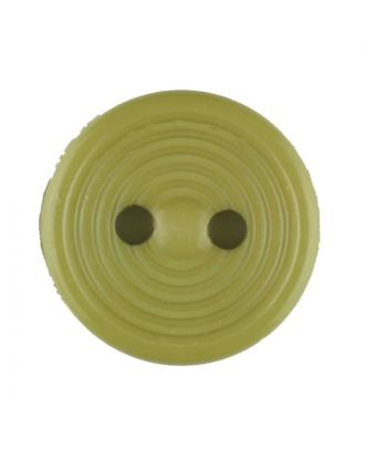 polyamide button with 2 holes - Size: 13mm - Color: green - Art.No. 217711