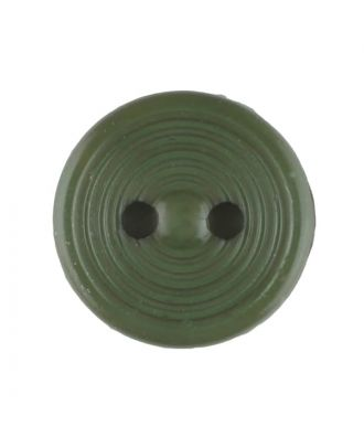 polyamide button with 2 holes - Size: 13mm - Color: dark green - Art.No. 217712