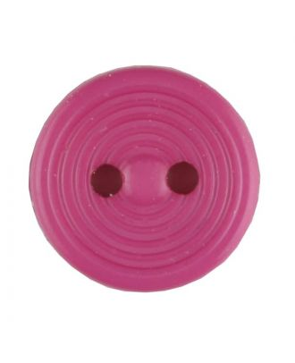 polyamide button with 2 holes - Size: 13mm - Color: pink - Art.No. 217713