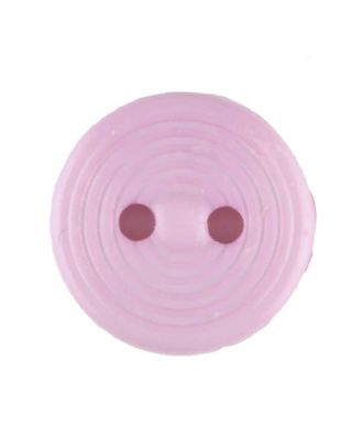 polyamide button with 2 holes - Size: 13mm - Color: pink - Art.No. 217714