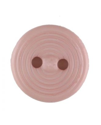 polyamide button with 2 holes - Size: 13mm - Color: pink - Art.No. 217715