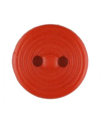 polyamide button with 2 holes - Size: 13mm - Color: red - Art.No. 217716