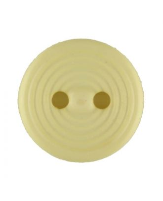 polyamide button with 2 holes - Size: 13mm - Color: yellow - Art.No. 217717