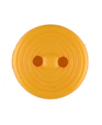 polyamide button with 2 holes - Size: 13mm - Color: yellow - Art.No. 217718