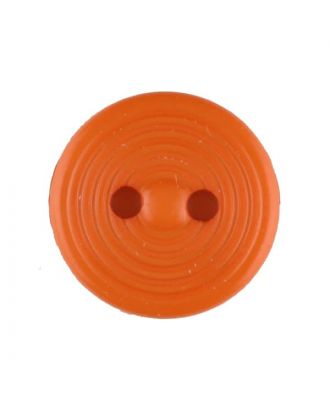 polyamide button with 2 holes - Size: 13mm - Color: orange - Art.No. 217719