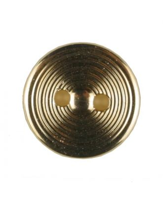 polyamide button with 2 holes - Size: 13mm - Color: gold plated - Art.No. 231628
