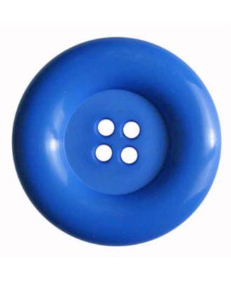 Fashion button - Size: 50mm - Color: blue - Art.No. 380079
