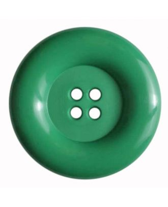 Fashion button - Size: 50mm - Color: green - Art.No. 380080