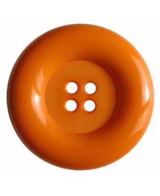 Fashion button - Size: 50mm - Color: orange - Art.No. 380084