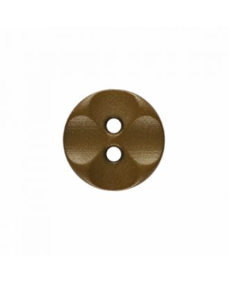 polyamide button round shape with 2 holes - Size: 13mm - Color: beige - Art.-Nr.: 226803