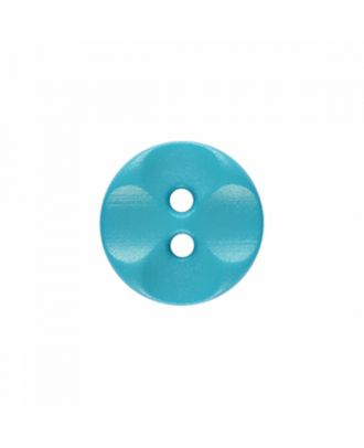 polyamide button round shape with 2 holes - Size: 13mm - Color: blue - Art.-Nr.: 226809