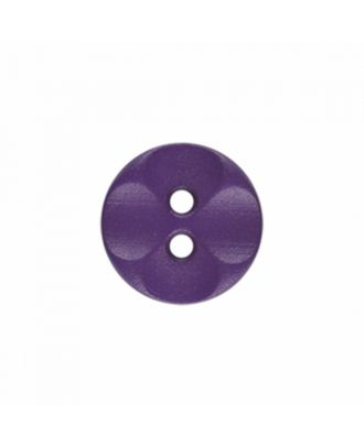 polyamide button round shape with 2 holes - Size: 13mm - Color: purple - Art.-Nr.: 226813