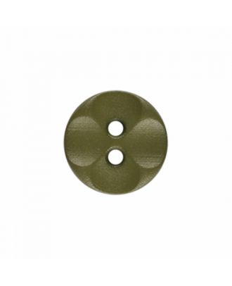 polyamide button round shape with 2 holes - Size: 13mm - Color: light green - Art.-Nr.: 226815