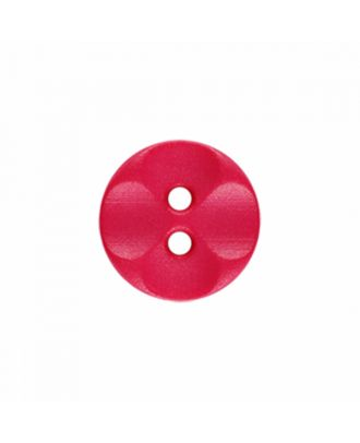 polyamide button round shape with 2 holes - Size: 13mm - Color: pink - Art.-Nr.: 226822