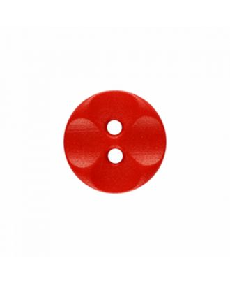 polyamide button round shape with 2 holes - Size: 13mm - Color: red - Art.-Nr.: 226823