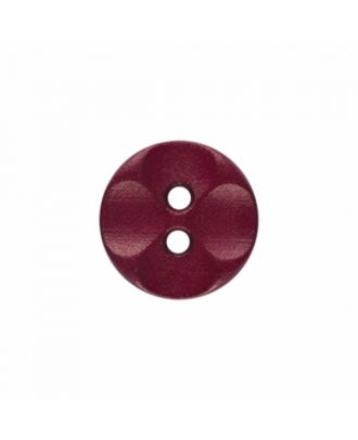 polyamide button round shape with 2 holes - Size: 13mm - Color: wine red - Art.-Nr.: 226824