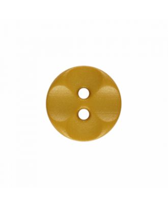 polyamide button round shape with 2 holes - Size: 13mm - Color: yellow - Art.-Nr.: 226826