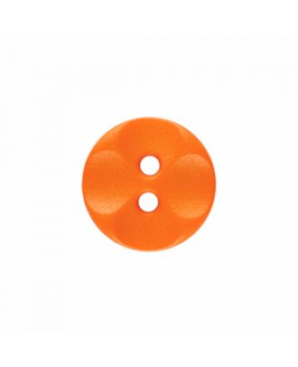 polyamide button round shape with 2 holes - Size: 13mm - Color: orange - Art.-Nr.: 226828
