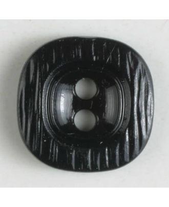 polyamide button - Size: 11mm - Color: black - Art.No. 211663