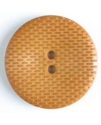 Fashion Button - Size: 38mm - Color: beige - Art.No. 352512