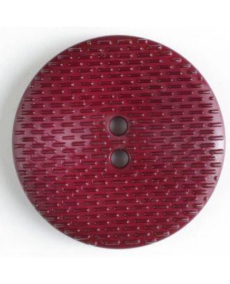 Fashion Button - Size: 38mm - Color: lilac - Art.No. 352515