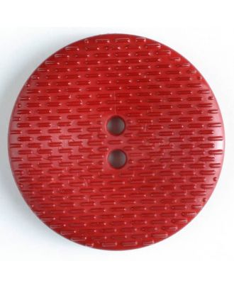 Fashion Button - Size: 38mm - Color: red - Art.No. 352518