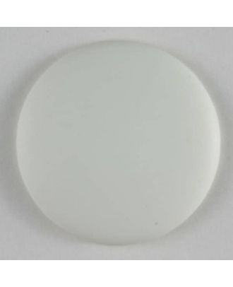 Fashion button - Size: 20mm - Color: white - Art.No. 230682
