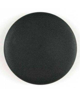 Fashion button - Size: 34mm - Color: black - Art.No. 320034