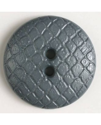 polyamide button - Size: 28mm - Color: grey - Art.No. 346609