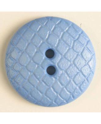polyamide button - Size: 23mm - Color: blue - Art.No. 316614