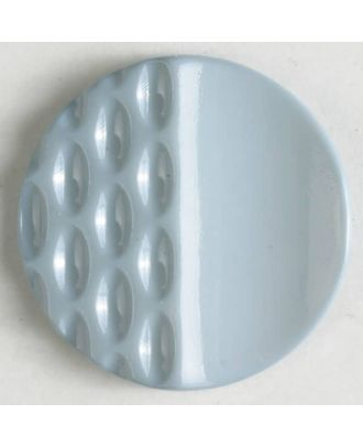 polyamide button with holes - Size: 23mm - Color: grey - Art.No. 318600