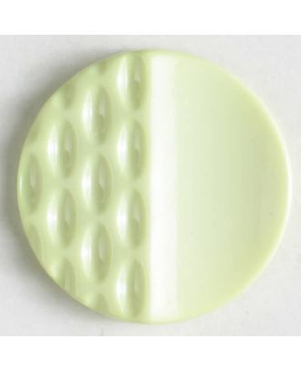 polyamide button with holes - Size: 18mm - Color: green - Art.No. 268605