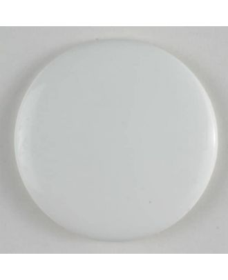 Fashion button - Size: 19mm - Color: white - Art.No. 231248