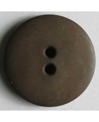 Fashion button - Size: 11mm - Color: brown - Art.No. 150192