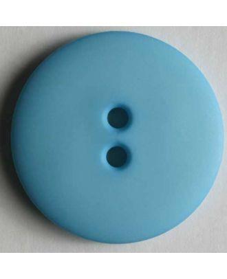 Fashion button - Size: 23mm - Color: blue - Art.No. 221164