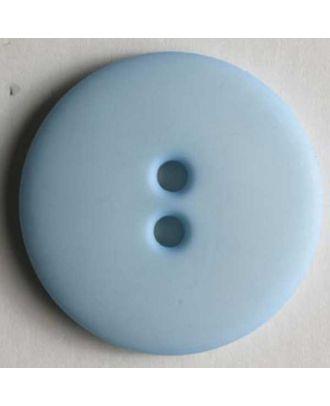 Fashion button - Size: 15mm - Color: blue - Art.No. 181072