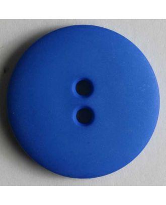 Fashion button - Size: 15mm - Color: blue - Art.No. 181000