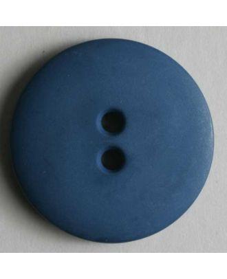 Fashion button - Size: 11mm - Color: blue - Art.No. 150196