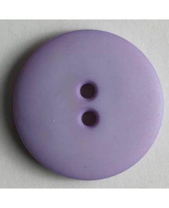 Fashion button - Size: 15mm - Color: lilac - Art.No. 181002