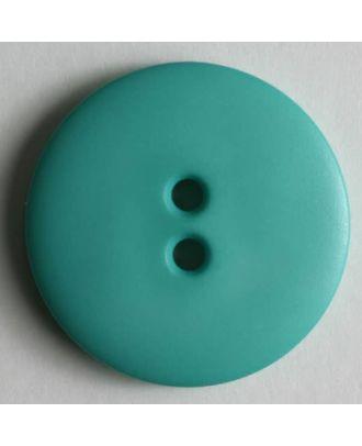 Fashion button - Size: 23mm - Color: green - Art.No. 221166